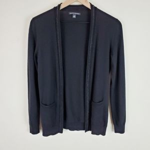 Banana Republic Wool/Cashmere Open Front Cardigan